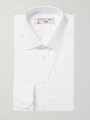 Turnbull & Asser White Cotton Shirt - Men - White
