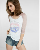 Express One Eleven Let's Get Lost Graphic Tee