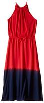 Polo Ralph Lauren Jersey Dip-Dye Maxi Dress (Little Kids/Big Kids)