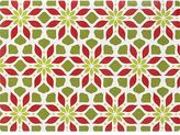 Crate & Barrel Poinsettia Placemat