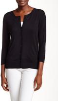 Susina 3/4 Length Sleeve Cardigan (Petite)