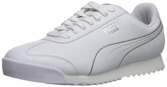 Puma Women's Roma Sneaker White Silver 8.5 M US