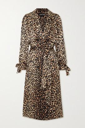 Tom Ford Leopard-print Silk Trench Coat - Leopard print