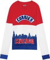 PINK Chicago Cubs Bling Raglan Crew