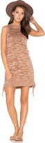 Somedays Lovin Lyrics Knit Tunic Dress in Brown