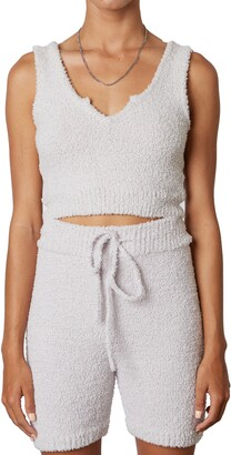 Nia Notch Collar Knit Tank Top