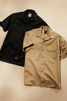 Dickies UO Exclusive Contrast Stitch Short Sleeve Button-Down Shirt