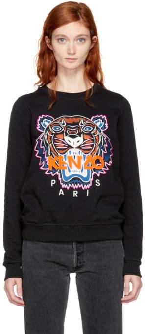 Kenzo Black Limited Edition Tiger Sweatshirt