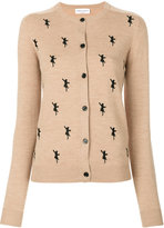 Sonia Rykiel cat embroidered cardigan