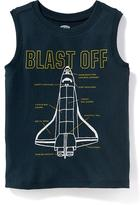 Old Navy Graphic Muscle Tank for Toddler Boys