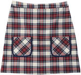 Brooks Brothers Girls' Plaid A-Line Skirt