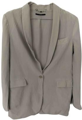Gucci Grey Silk Jackets