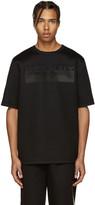 Helmut Lang Black Oversized Logo T-Shirt
