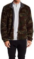 Weatherproof Camo Soft Fleece Zip Sweater