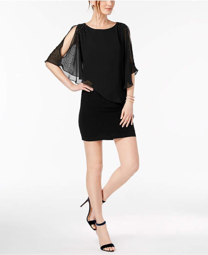 3097d78e Xscape Evenings Black Women's Petite Clothes - ShopStyle