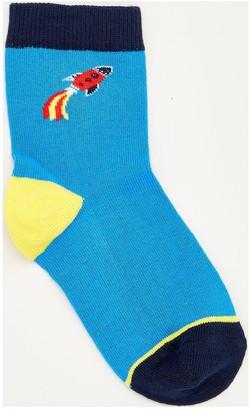 Very Boys 7 Pack Space Socks - Multi