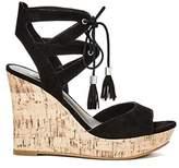 G by Guess Womens Estes Open Toe Casual Platform Sandals.