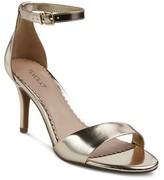 Tevolio Women's Raz Metallic City Heeled Sandals