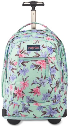 JanSport Driver 8 Floral Rolling Backpack