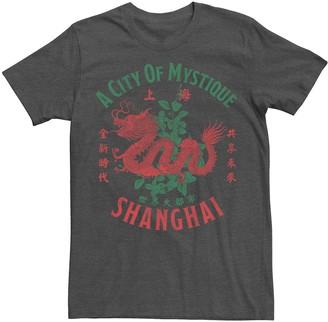 Mystique Men's Travel Apparel Shanghai City Of Tee