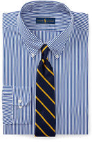 Ralph Lauren Big & Tall Striped Broadcloth Dress Shirt