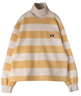 Stripe Turtle Sweatshirt Mustard