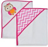 Neat Solutions 2-Pack Knit Terry Hooded Towel Set in Owl