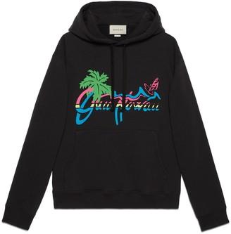 """Gucci Hawaii"""" print sweatshirt"""