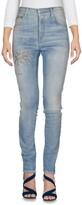 Care Label Denim pants - Item 42580236