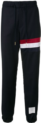 Thom Browne Rwb Seam Wool Sweatpant