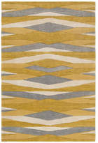 Surya Artist Studio Geometric Wheat, Mustard Area Rug, 8'x11'