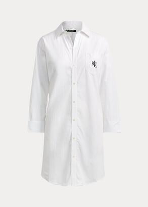 Ralph Lauren Cotton Dobby Pajama Shirt