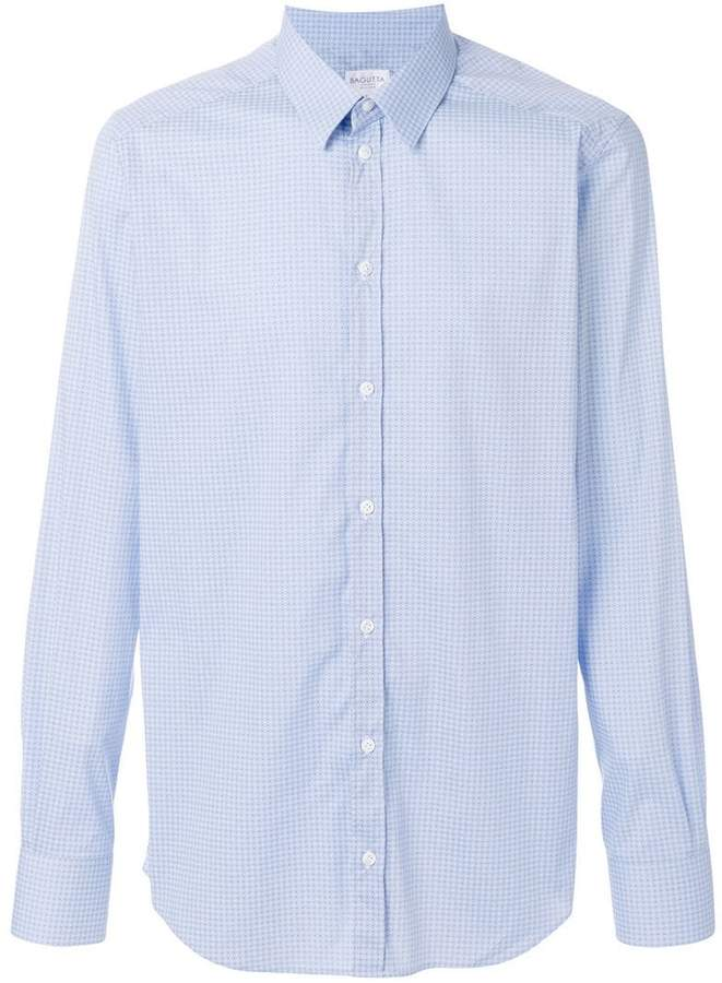 Bagutta dot print shirt