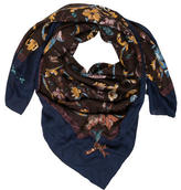 Hermes Pierres d'Orient Cashmere Silk Shawl
