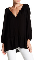 Velvet by Graham & Spencer Dahl Diamond Knit Blouse