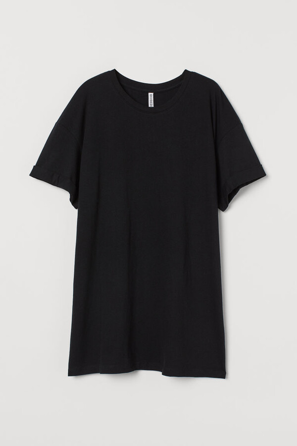 H&M - H&M+ Cotton T-shirt - Black
