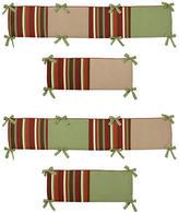 JoJo Designs Sweet Monkey Collection Crib Bumper