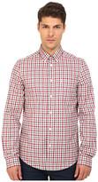 Ben Sherman Long Sleeve Gingham Woven Shirt MA11362A