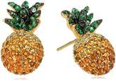 Noir Pineapple Stud Earrings
