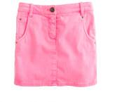J.Crew Girls' garment-dyed denim mini