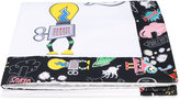 Fendi monster print towel - kids - Cotton - One Size