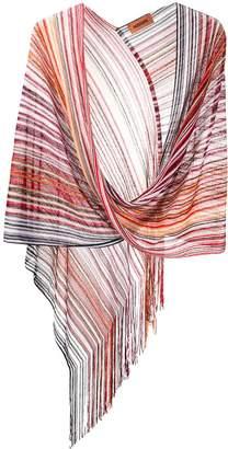 Missoni Striped Knit Shawl