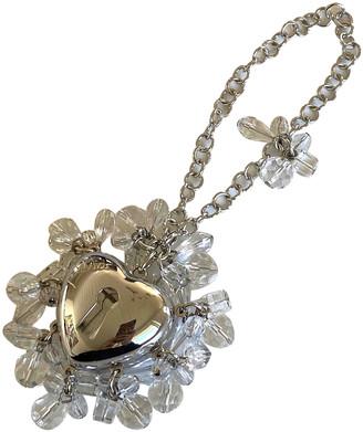 Christian Dior Silver Metal Bag charms