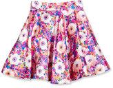 Oscar de la Renta Floral Mikado Circle Skirt, Pink, Size 2-14