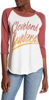 Junk Food Clothing Cleveland Cavaliers 3/4 Length Sleeve Tee