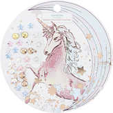 Monsoon Magical Unicorn Stick On Earrings