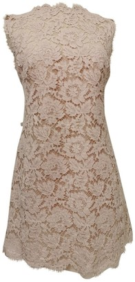 Valentino \N Pink Lace Dresses
