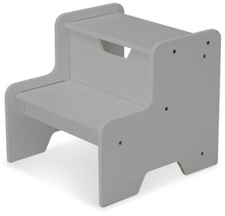 Melissa & Doug Kids Furniture Wooden Step Stool - Gray