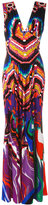 Roberto Cavalli Dreamscape dress - women - Viscose - 40