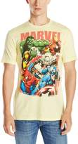 Marvel Team-Ups Men's Team Ups Group On T-Shirt